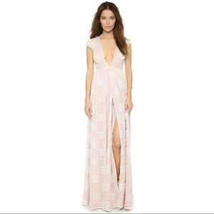 The Jetset Diaries Ethereal Whispers Maxi Dress